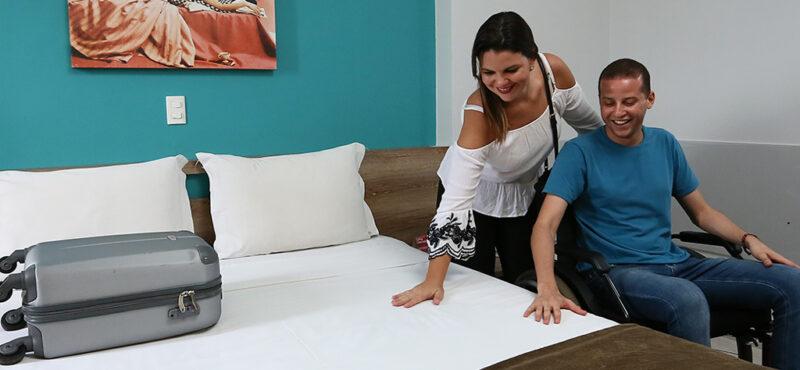 Standard Room Adaptado 1 cama de casal