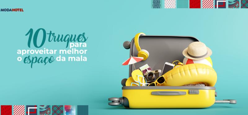 10 truques para aproveitar melhor o espaço da mala
