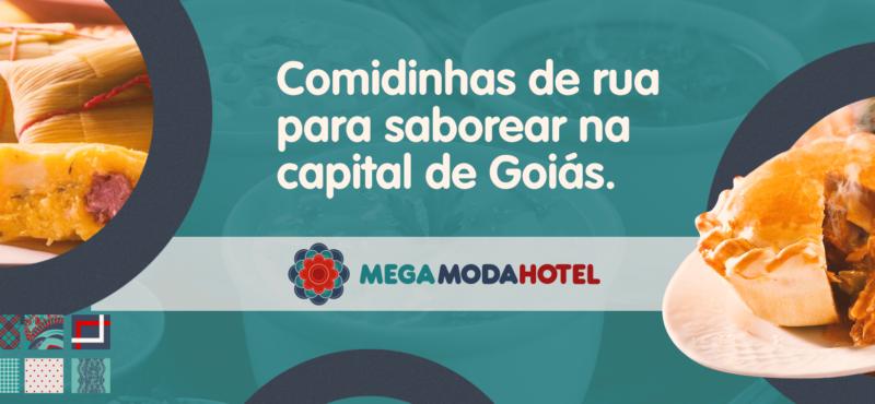 Comidinhas de rua para saborear na capital de Goiás